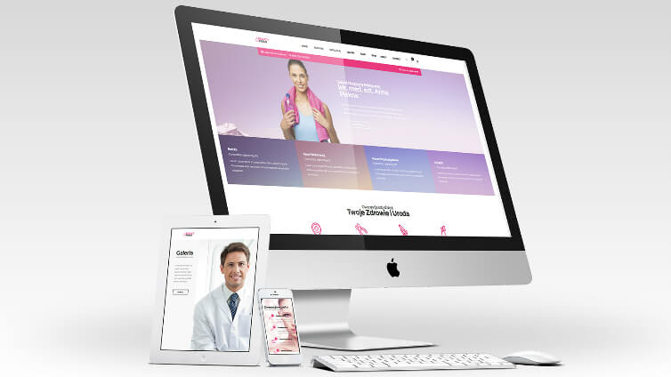 Tworzenie stron internetowych dla lekarzy, gabinetów medycznych, stomatologów