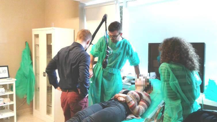 Szkolenia z laseroterapii i sprzętu medycznego ipl infini eco2