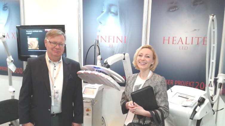 OLLIE podczas XVII Międzynarodowego Kongresu Dermatologii Estetycznej - Oliwia Bożek