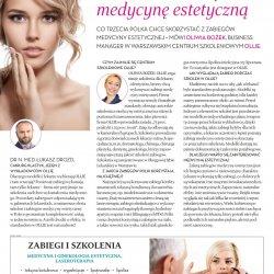 Polki odkrywają medycynę estetyczną – wywiad Wprost z Oliwią Bożek