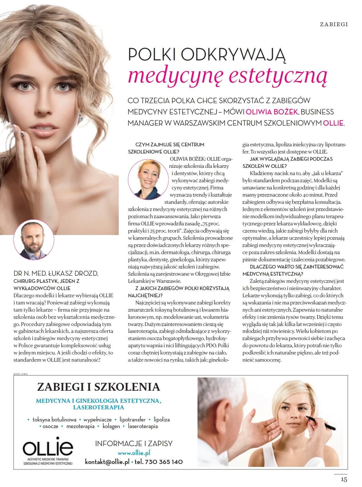 Polki odkrywają medycynę estetyczną
