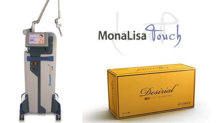 Medycyna i ginekologia estetyczna - laser MonaLisa oraz kwas hialuronowy Desirial do modelowania okolic intymnych